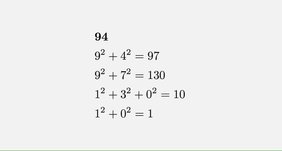 Mutlu sayı nedir?