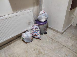 Çöpler toplanmıyor
